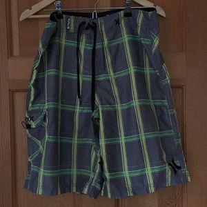 Men's Plaid Hurley Board Shorts